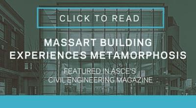 MassArt building experiences metamorphosis
