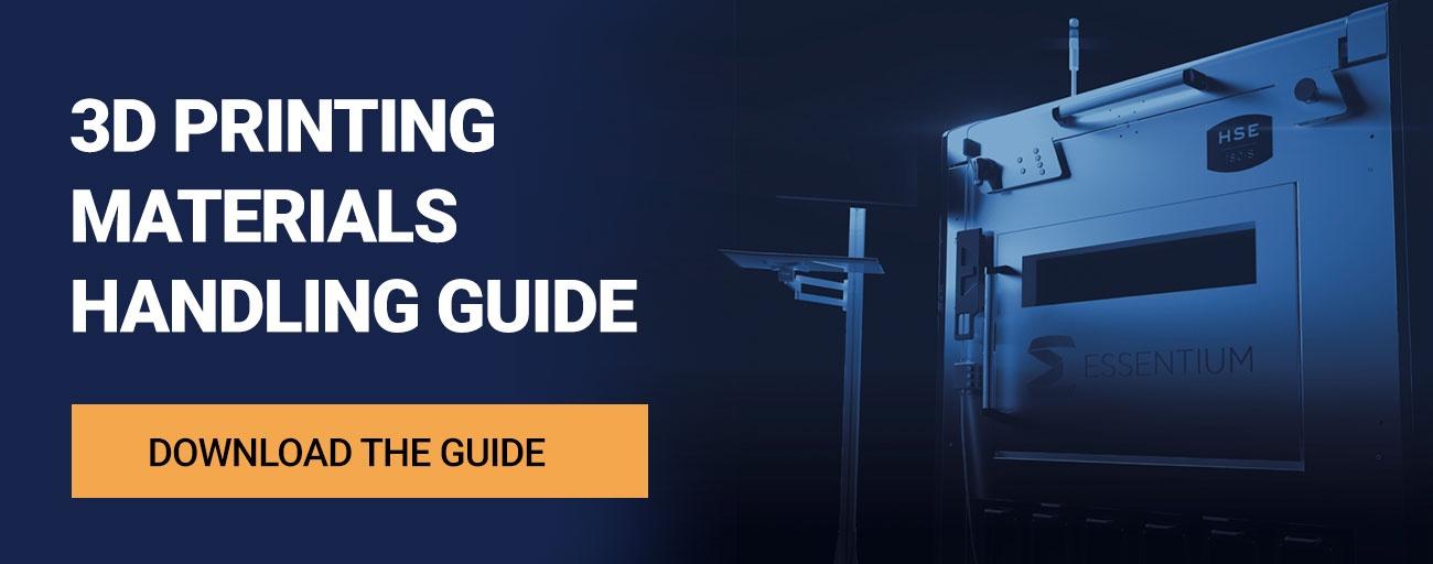 3D Printing Materials Handling Guide
