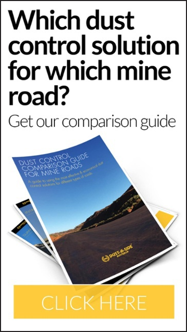 Which dust control solution for which mine road?