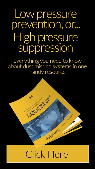 Dust Suppression & Dust Prevention Comparison Sheet