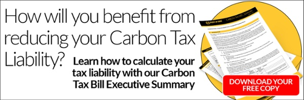 How will you benefit from reducing your Carbon Tax Liability?