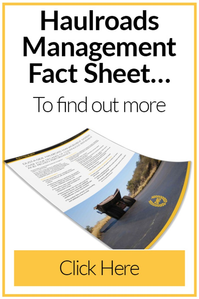 Haul Roads Management Fact Sheet (South Africa)