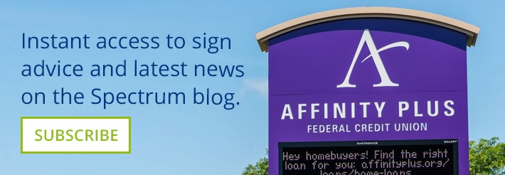 Get the latest sign industry news and advice on the Spectrum Signs blog