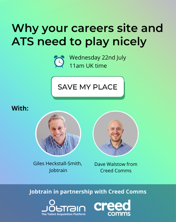 Why your careers site and ATS need to play nicely CTA