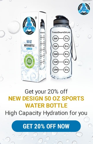 20% Promo 50oz Sports Water Bottle