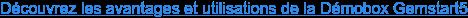 """Plus d'informations dans notre article """"DémoBox GemStart5 : outil de formation, test et configuration"""""""