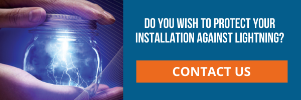 Do you wish to protect your installation against lightning - contact us