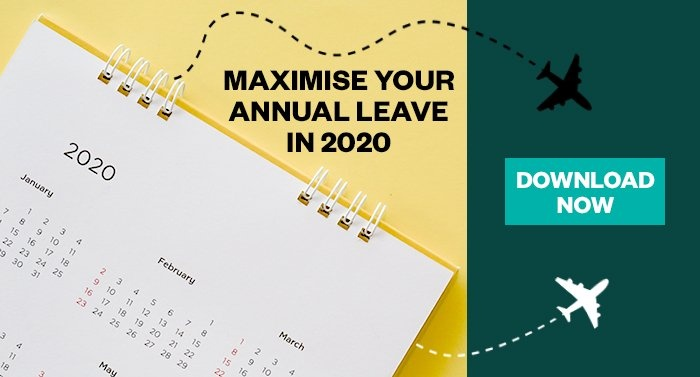 maximise your annual leave in 2020 download guide