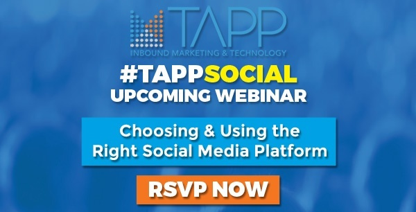 Register For Webinar - Choosing And Using The Right Social Media Platform - Click Here