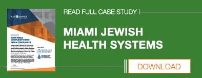 Miami Jewish Health Systems Case Study