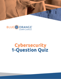 Cybersecurity - 1 Question Quiz