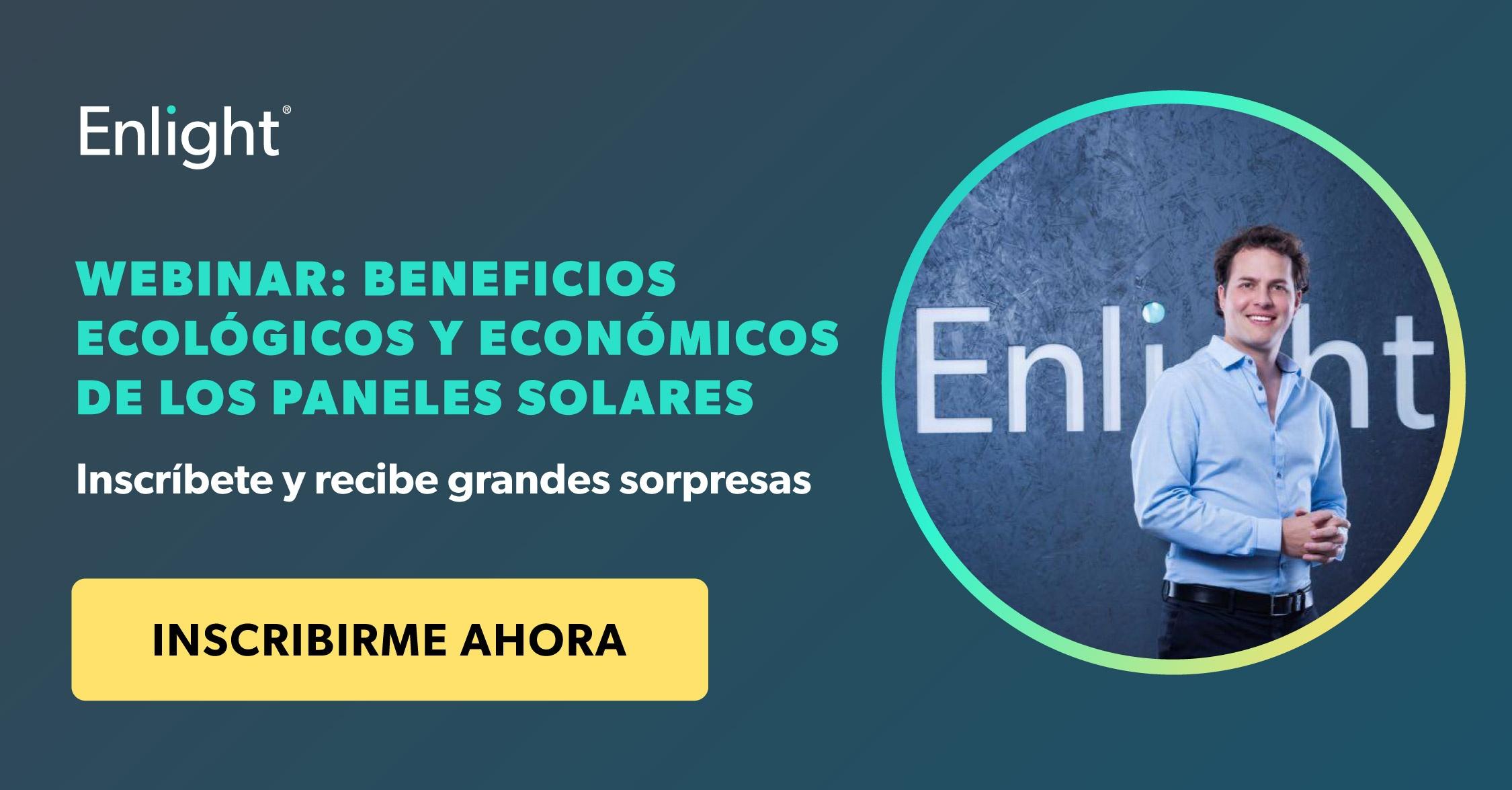 Webinar beneficios ecológicos y económicos de los paneles solares
