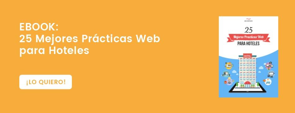 25 mejores prácticas web para hoteles