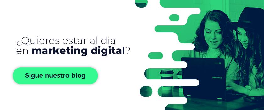 Suscripción blog marketing digital