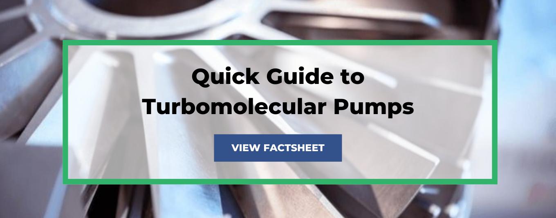 Turbomolecular pumps factsheet