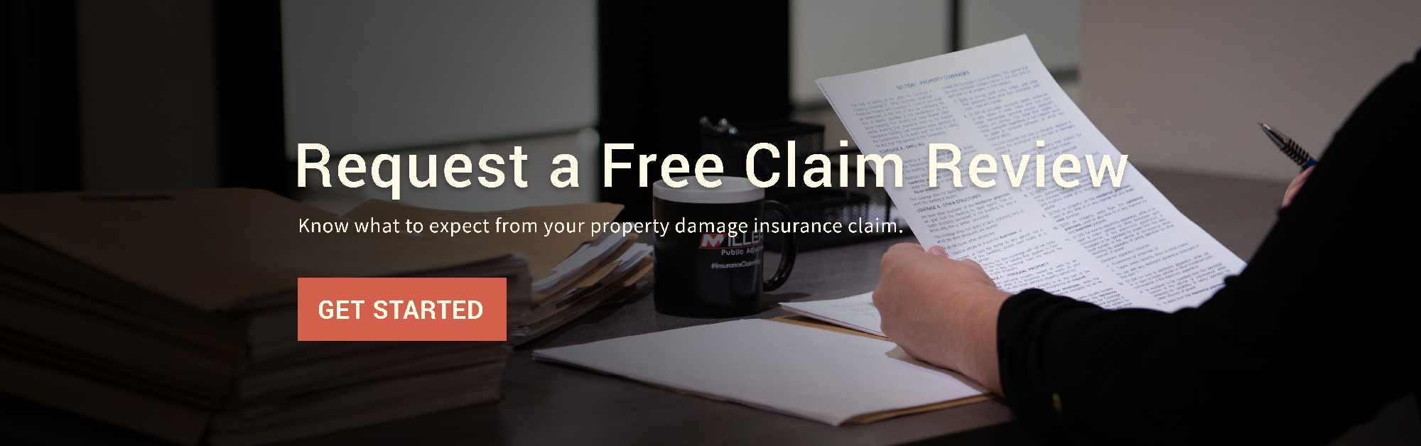 Free Claim Review CTA