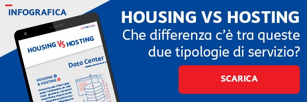 infografica Housing vs Hosting