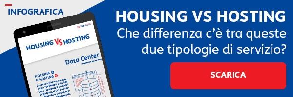 infografica Housing vs Hosting
