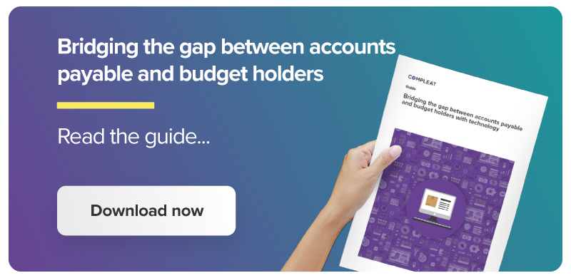 Bridging the gap between accounts payable