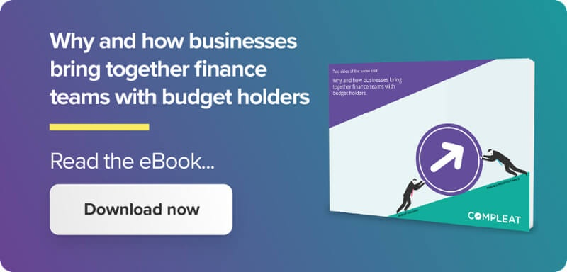 Why and how businesses bring together finance teams with budget holders