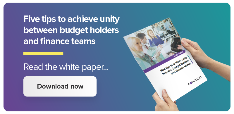 Five tips to achieve unity between budget holders and finance teams