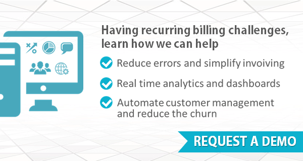 Icon with images to help illustrate recurring billing challenges