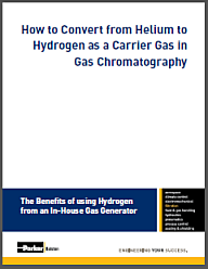 How to Convert from Helium to Hydrogen as a Carrier Gas in Gas Chromatography