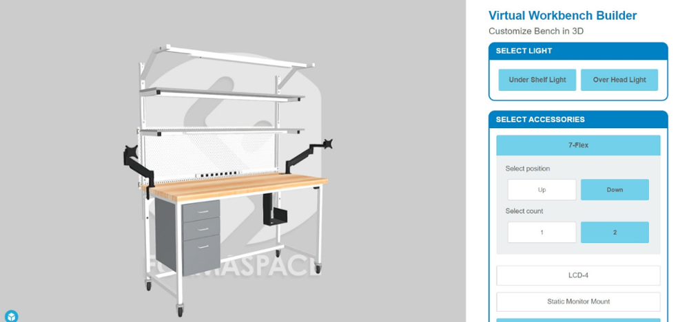 Formaspace Virtual Workbench Builder