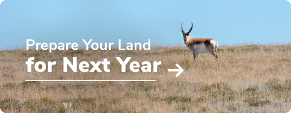 Prepare Your Land for Next Year