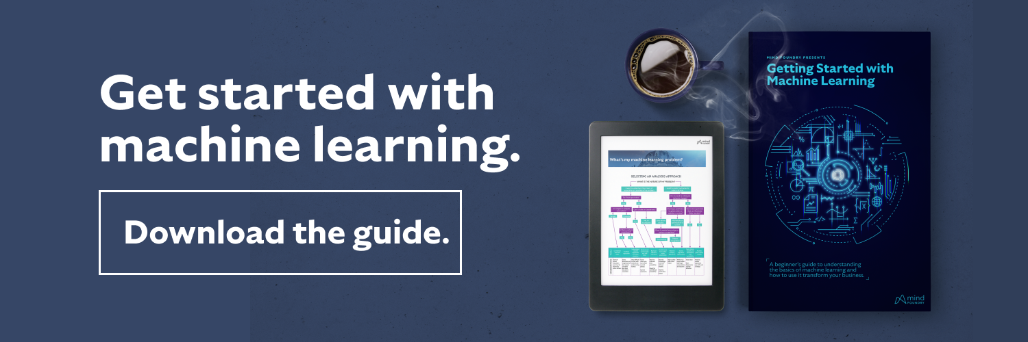 Download the Machine Learning 101 Guide