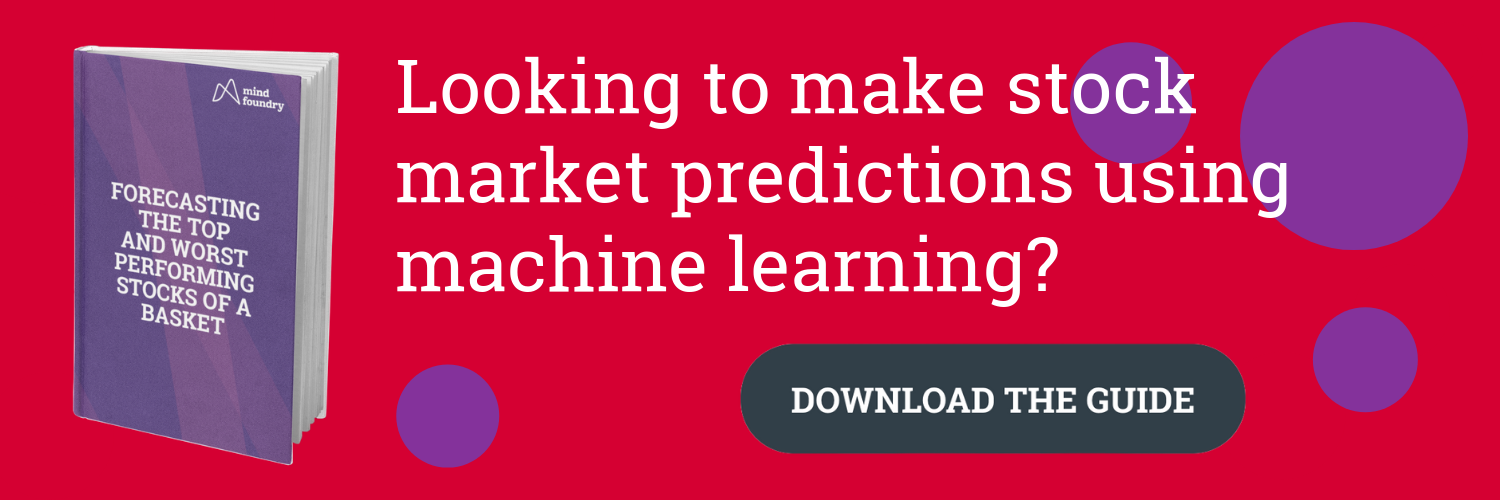 Stock Market Predictions with Machine Learning Guide