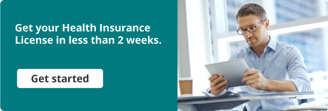 Get your Health Insurance License in less than 2 weeks.
