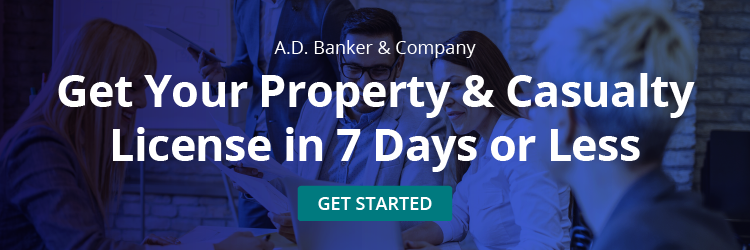 Get Your Property & Casualty License in 7 Days or Less