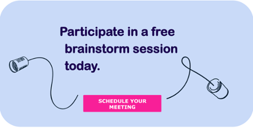Participate in a free brainstorm session today