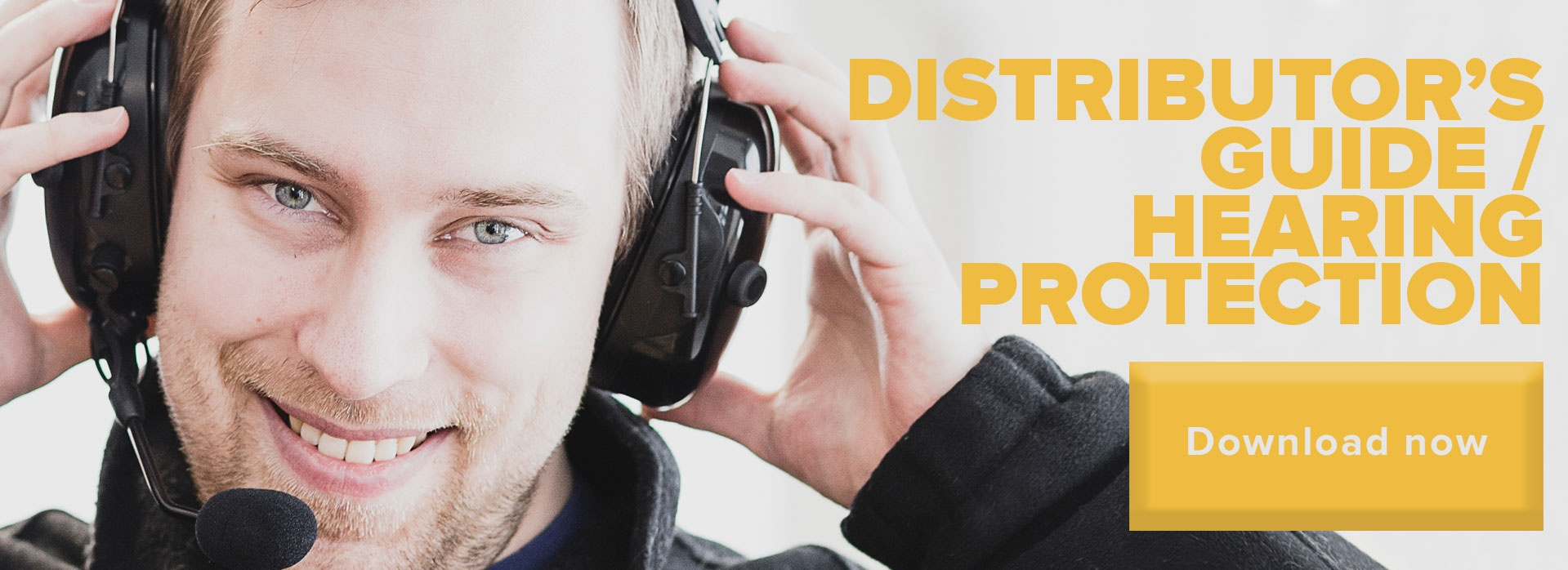 Savox Distributor's guide to hearing protection Call-to-action button