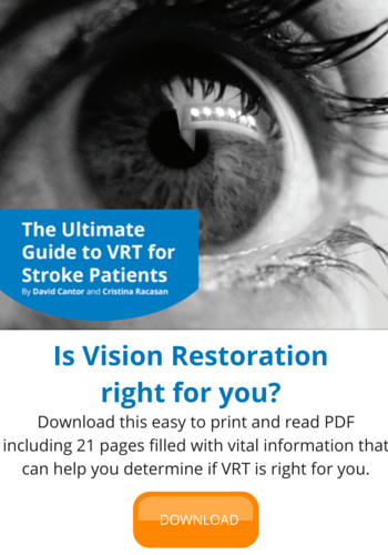 Download the Ultimate Patients Guide to Vision Restoration Therapy