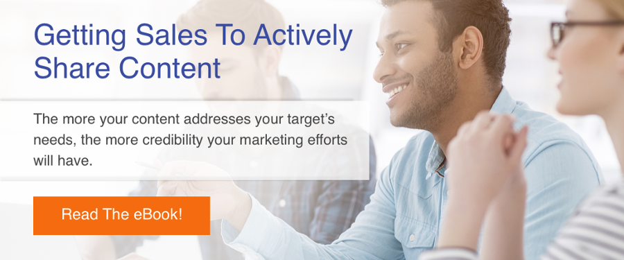 Getting Sales to Actively Share Content