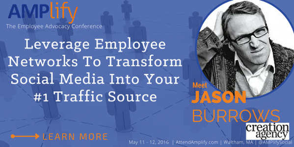 AMPlify Speaker Jason Burrows