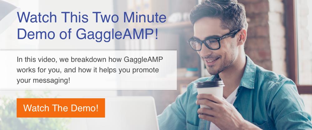GaggleAMP Two Minute Demo