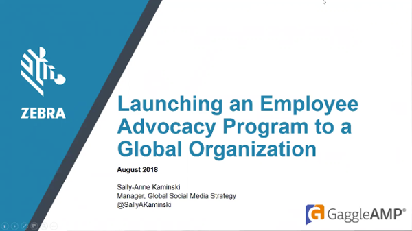 Employee Advocacy For a Global Organization