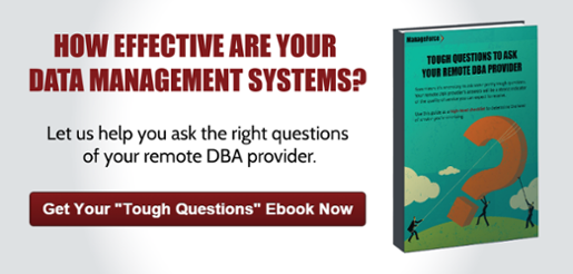 Download Tough Questions to Ask your Remote DBA