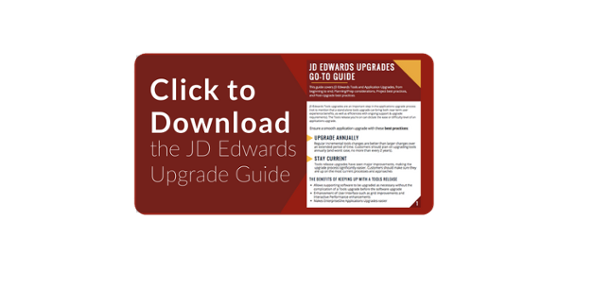 JD Edwards Upgrade Guide