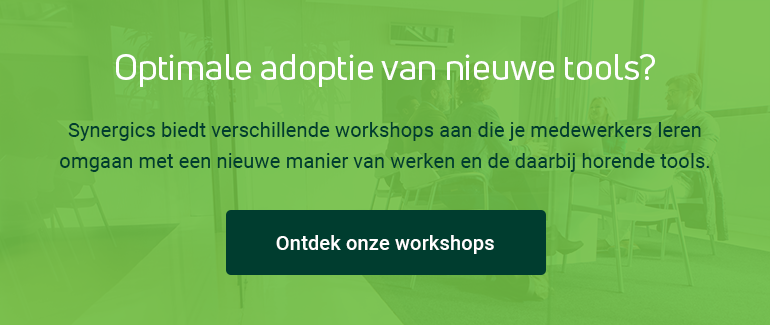 Optimale adoptie van nieuwe tools?