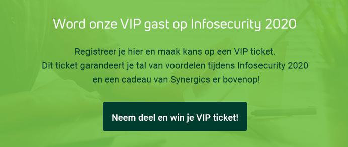 Word onze VIP op Infosecurity 2020