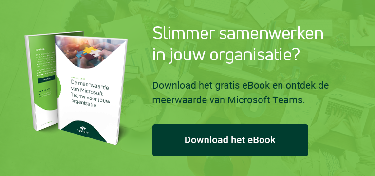 Download het gratis Microsoft Teams eBook.