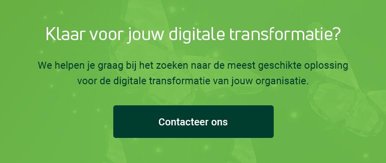 Klaar voor jouw digitale transformatie? Contacteer ons!