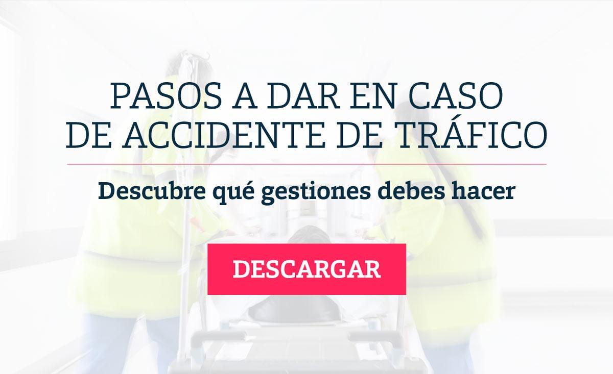 Pasos a dar en caso de accidente de tráfico