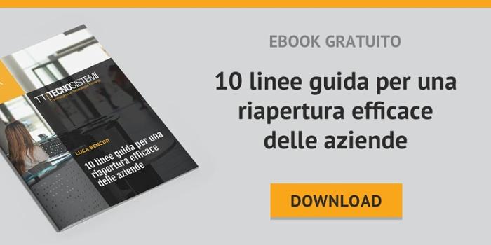 TT Tecnosistemi | eBook gratuito | 10 linee guida per la riapertura delle aziende