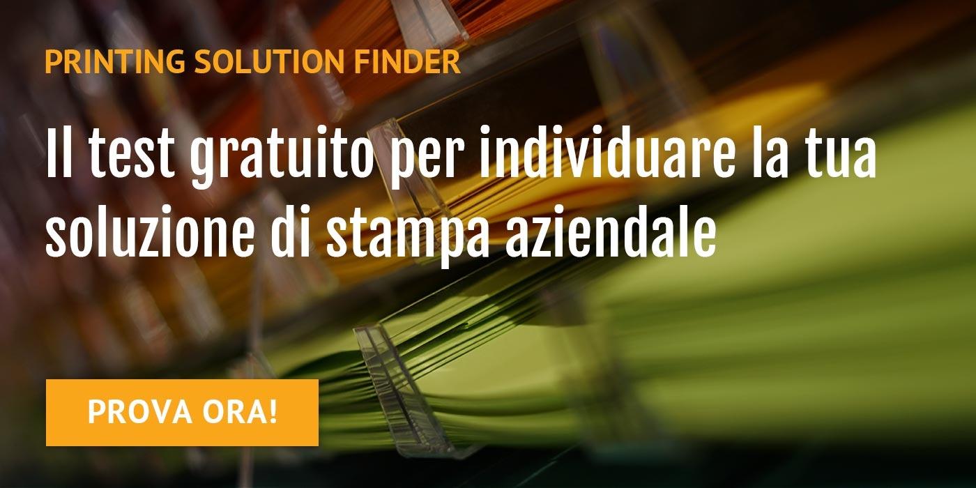 Printing Solution Finder TT Tecnosistemi