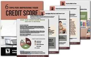6 Tips for Improving Your Credit Score